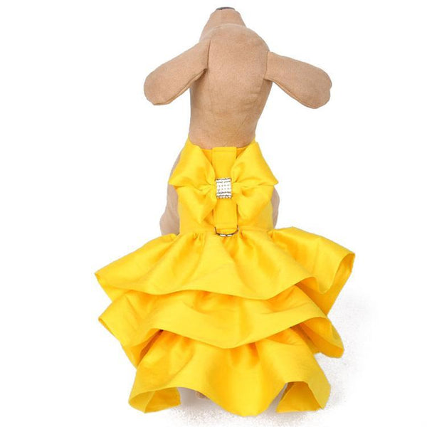 SUNSHINE MADISON COUTURE DOG DRESS HARNESS, DRESS - Bones Bizzness