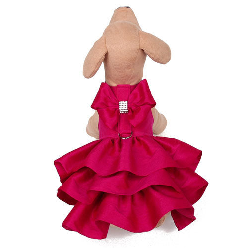 WINE & ROSES COUTURE DOG DRESS HARNESS, DRESS - Bones Bizzness