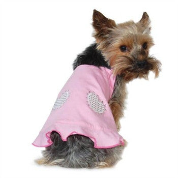 POLKA DOT REVERSIBLE DOG DRESS, Dress - Bones Bizzness
