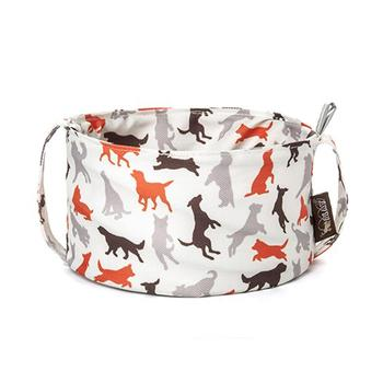 SCOUT AND ABOUT TRAVEL DOG/PET BOWL, Travel Bowls - Bones Bizzness