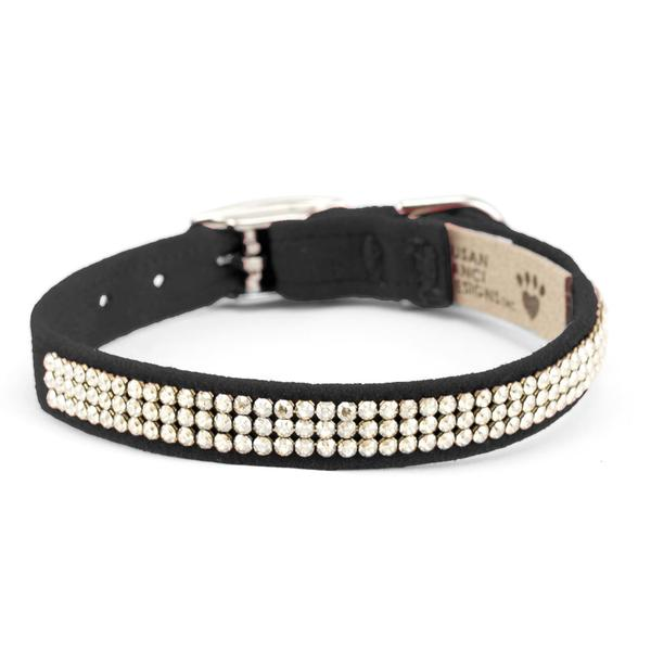 GILTMORE COLLARS 2 & 3 ROW SWAROVSKI CRYSTALS (53 COLORS), Collars - Bones Bizzness