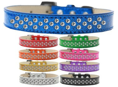SPRINKLES ICE CREAM CRYSTAL CLEAR DOG COLLAR (9 COLORS), Collars - Bones Bizzness