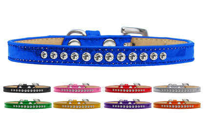 ICE CREAM CRYSTAL CLEAR PUPPY DOG COLLAR (9 COLORS), Collars - Bones Bizzness