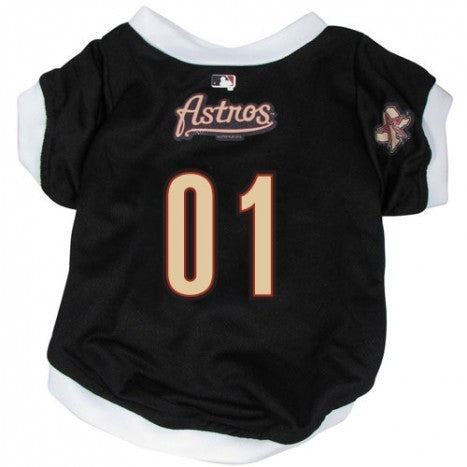 HOUSTON ASTROS DOG JERSEY WITH TRIM, MLB - Bones Bizzness