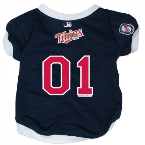 MINNESOTA TWINS DOG JERSEY WITH TRIM, MLB - Bones Bizzness