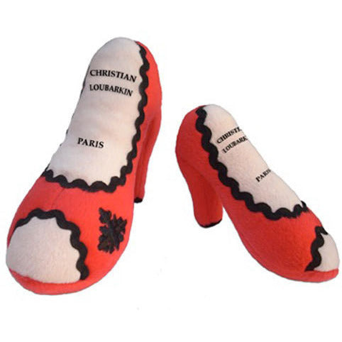 CHRISTIAN LOUBARKIN SHOE DOG TOY, Toys - Bones Bizzness