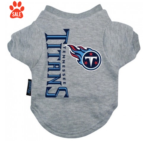 TENNESSEE TITANS DOG TEE SHIRT, NFL Jerseys - Bones Bizzness