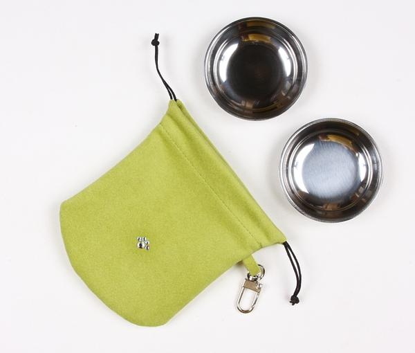 LIME TRAVEL POUCH, Travel Bowls - Bones Bizzness