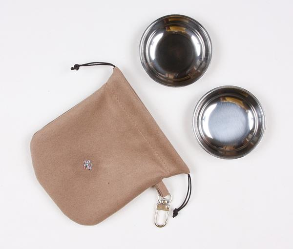 FAWN TRAVEL POUCH, Travel Bowls - Bones Bizzness