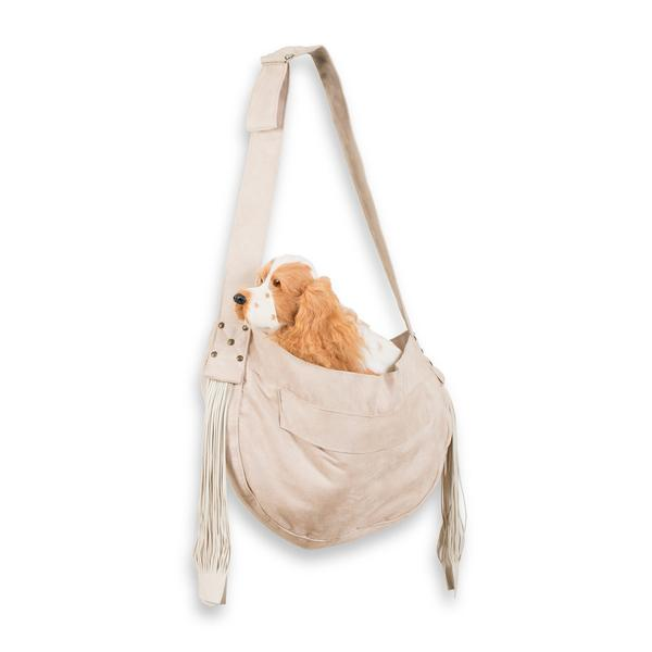 CUDDLE DOG CARRIER DOE & FRINGE, Carriers - Bones Bizzness