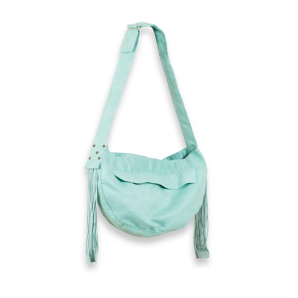 CUDDLE CARRIER MINT & FRINGE, Carriers - Bones Bizzness