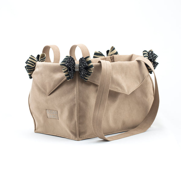FAWN & SERENGETI LUXURY PURSE CARRIER, Carriers - Bones Bizzness