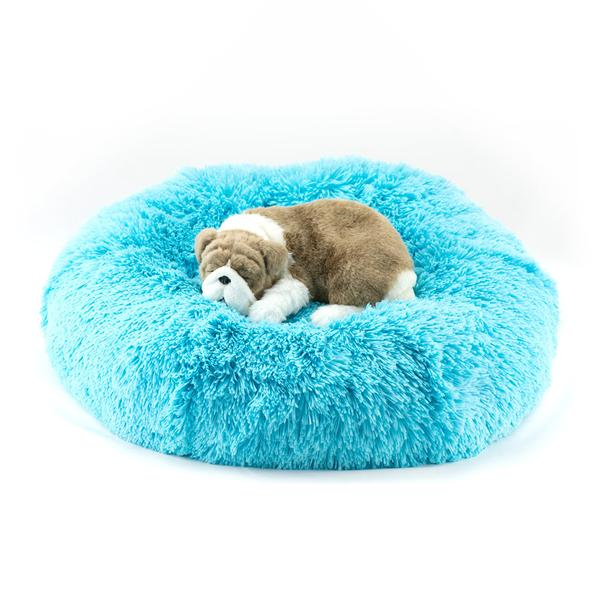 AQUA SHAG DOG BED, Beds - Bones Bizzness