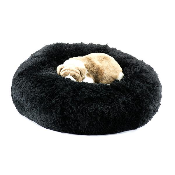 BLACK SHAG DOG BED, Beds - Bones Bizzness