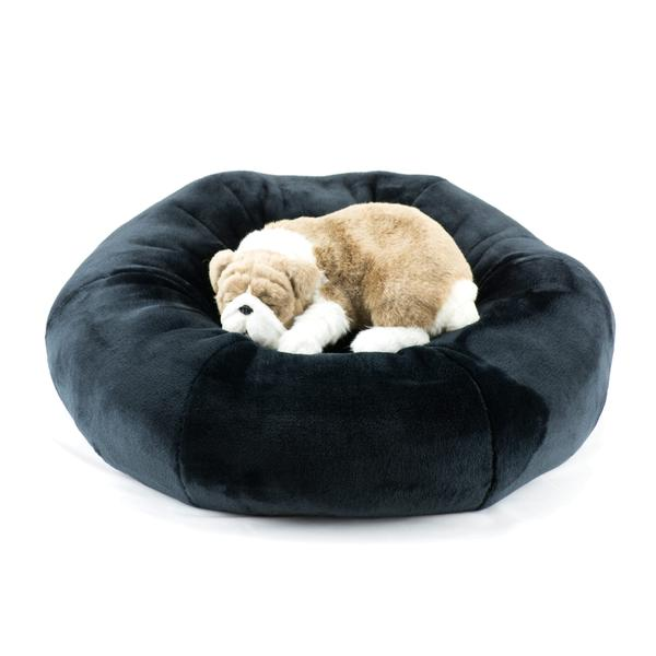 BLACK SPA DOG BED, Beds - Bones Bizzness