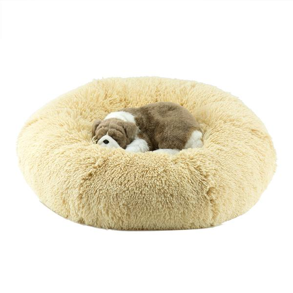 CAMEL SHAG DOG BED, Beds - Bones Bizzness