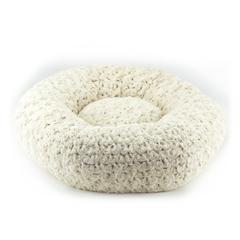 FROSTED CAMEL SPA DOG BED, Beds - Bones Bizzness