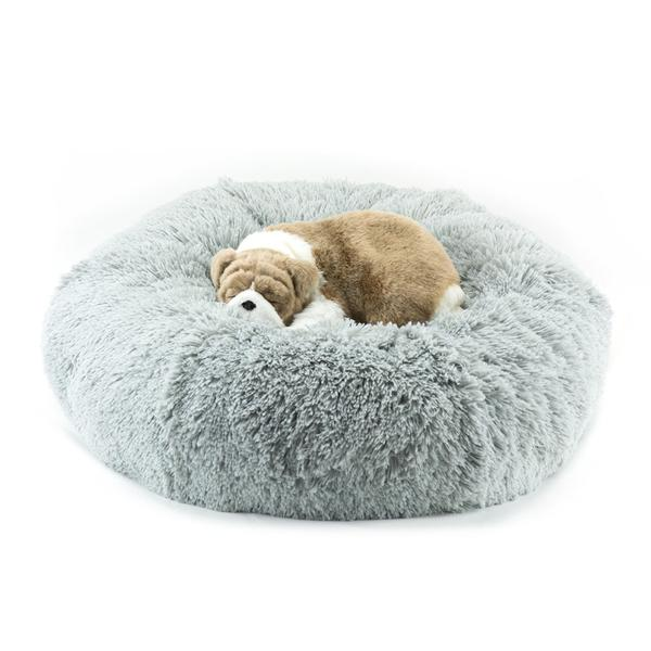 PLATINUM SHAG DOG BED, Beds - Bones Bizzness