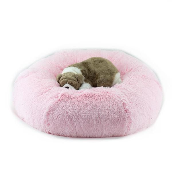 SUSAN LANCI SHAG DOG BED (6 COLORS), Beds - Bones Bizzness