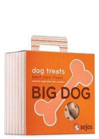 SOJO DOG BIG DOG TREAT BEEF 12 OZ, Treats - Bones Bizzness
