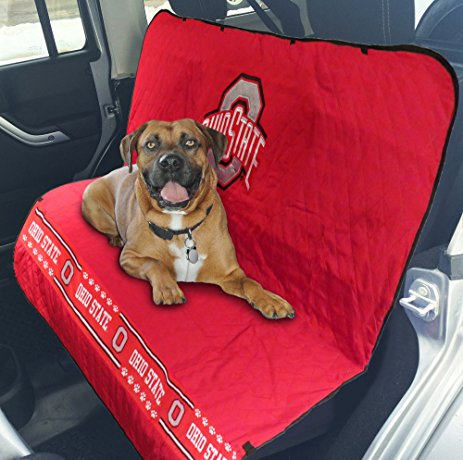 OHIO STATE CAR SEAT COVER, NCAA - Bones Bizzness