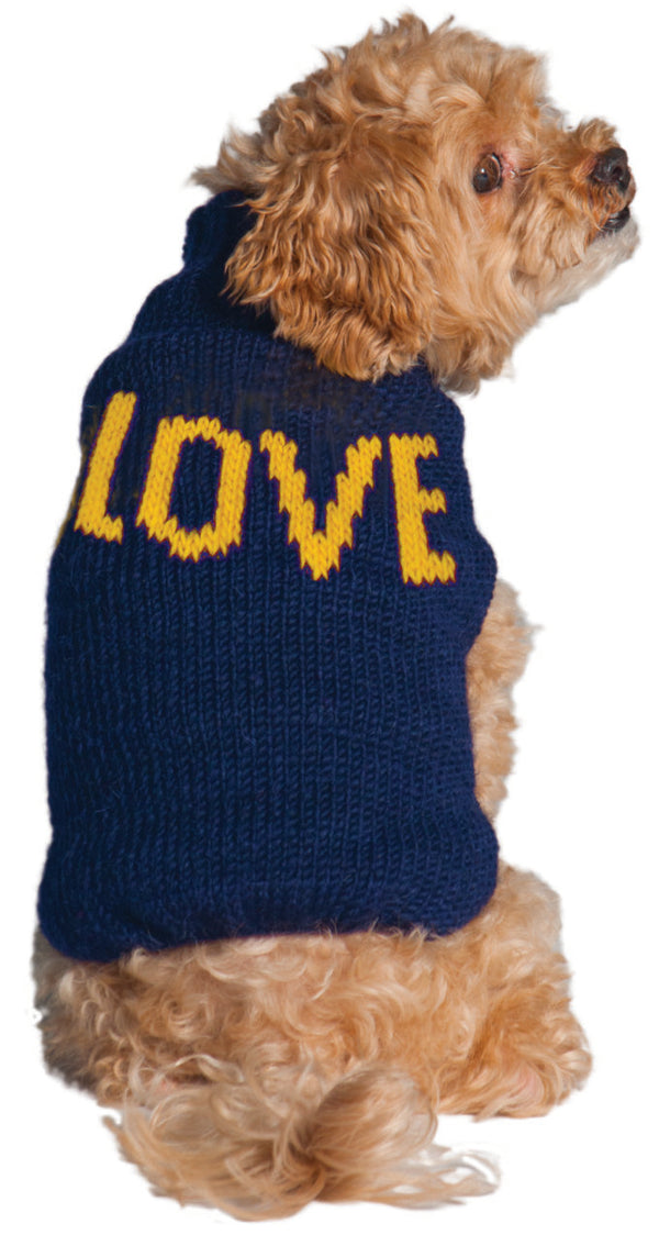 ALPACA LOVE DOG SWEATER