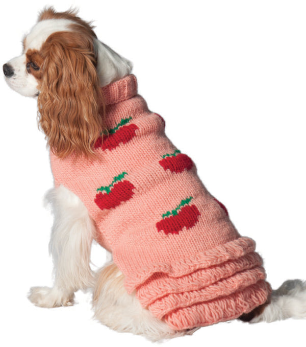 APPLE SKIRT WOOL DOG SWEATER
