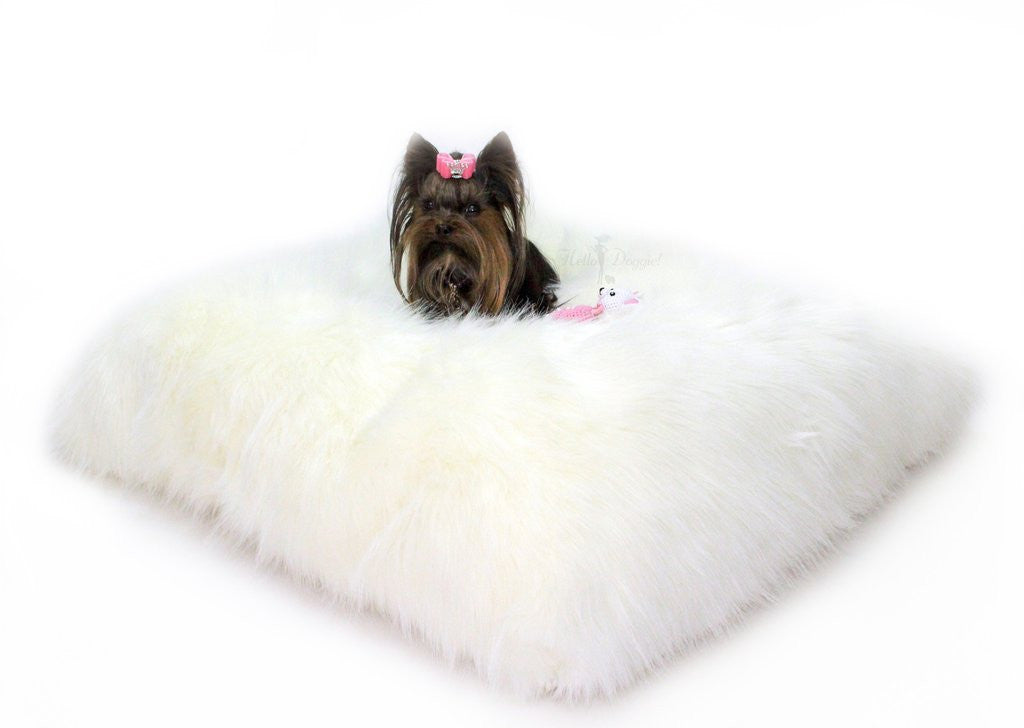 IVORY ARCTIC DOG BED, Beds - Bones Bizzness