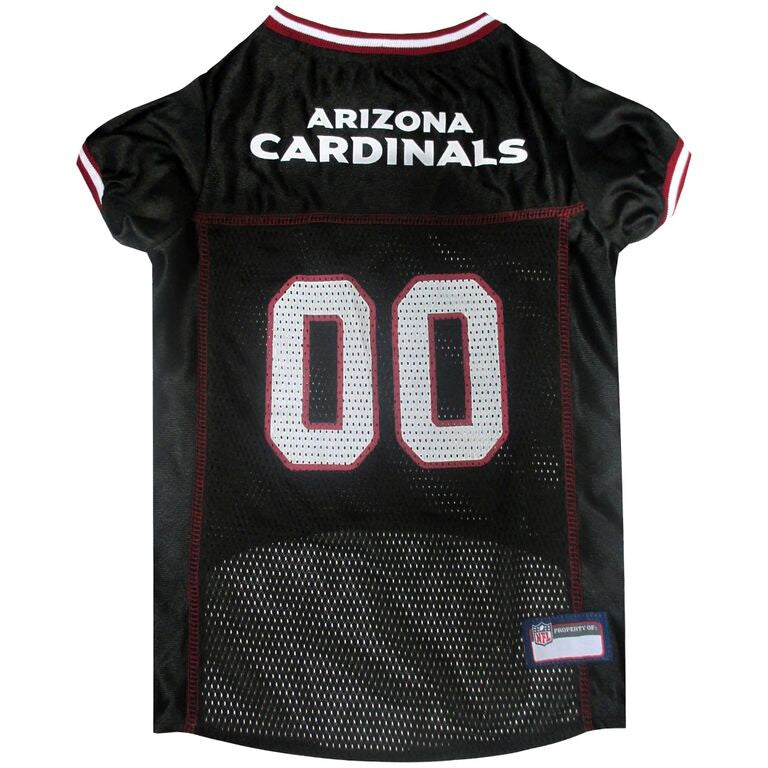 ARIZONA CARDINALS DOG JERSEY- RED TRIM, NFL Jerseys - Bones Bizzness