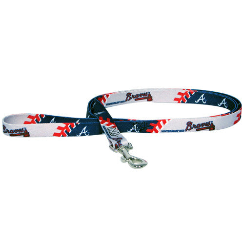 ATLANTA BRAVES DOG LEASH, MLB - Bones Bizzness