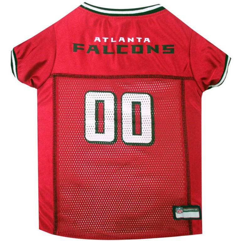 ATLANTA FALCONS DOG JERSEY- BLACK TRIM, NFL Jerseys - Bones Bizzness