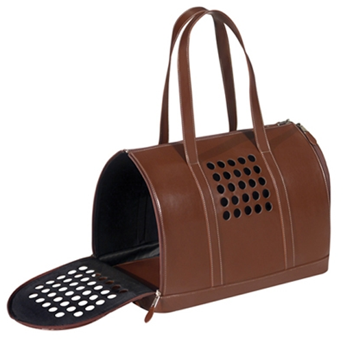 BARK n BAG BROWN DOG CARRIER, Carriers - Bones Bizzness