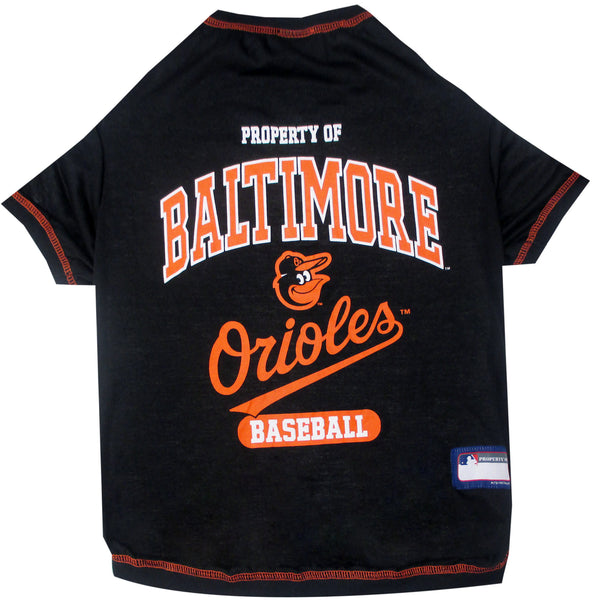 BALTIMORE ORIOLES DOG TEE SHIRT, MLB - Bones Bizzness