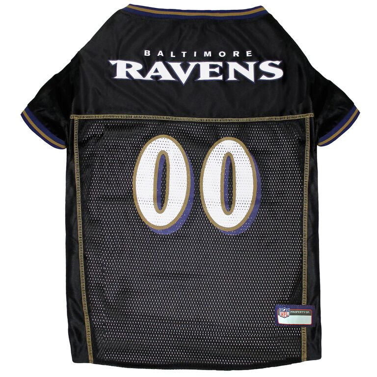 BALTIMORE RAVENS DOG JERSEY- BLACK, NFL Jerseys - Bones Bizzness