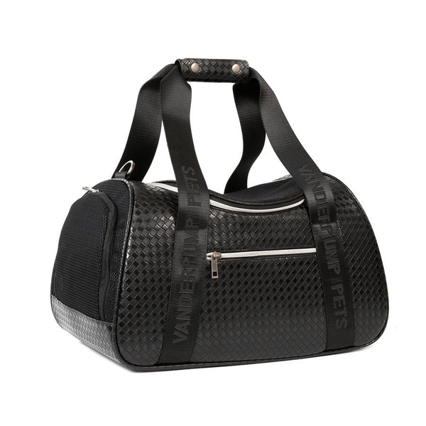 Copy of VANDERPUMP GRAPHITE DUFFLE PET CARRIER - BLACK, Carriers - Bones Bizzness