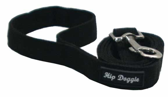 BLACK MESH MATCHING LEASH
