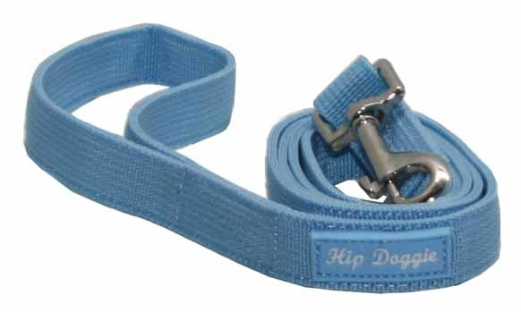 BLUE MESH MATCHING LEASH