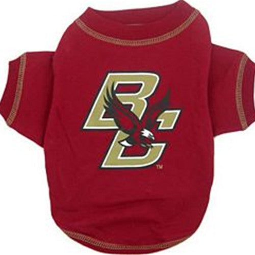 BOSTON COLLEGE DOG TEE SHIRT, NCAA - Bones Bizzness