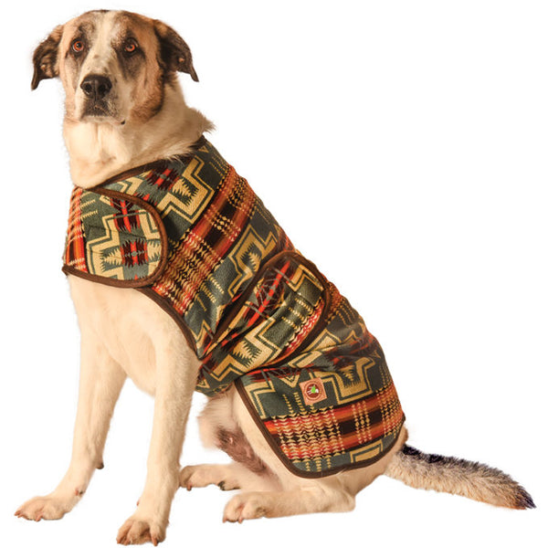 Denim Southwest Dog Blanket Coat, Sweaters - Bones Bizzness