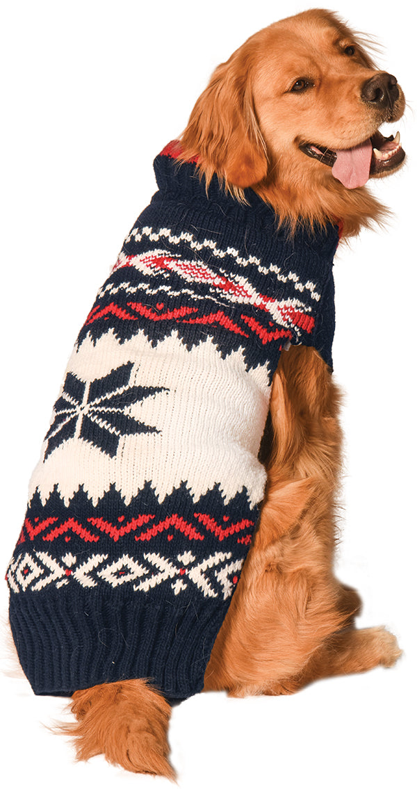 Navy Vail Dog Sweater, Sweaters - Bones Bizzness