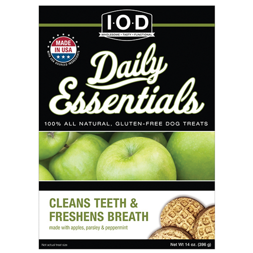 CLEANS TEETH AND FRESHENS BREATH - FEATURING APPLES AND PARSLEY, & PEPPERMINT, Treats - Bones Bizzness