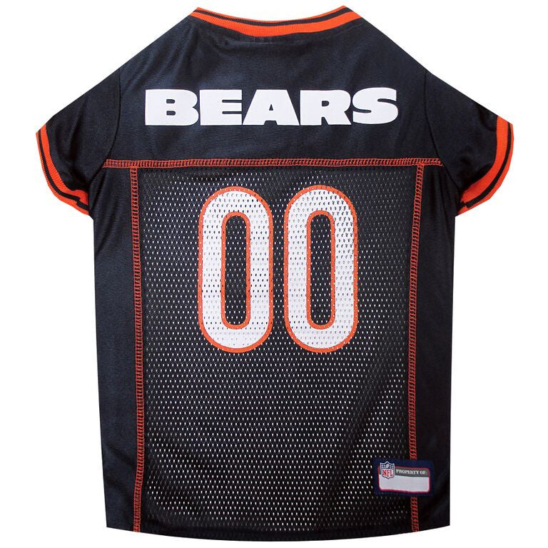 CHICAGO BEARS DOG JERSEY- ORANGE TRIM, NFL Jerseys - Bones Bizzness