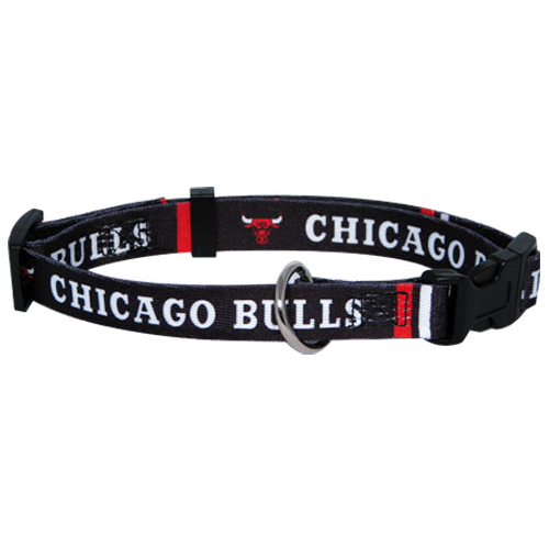 CHICAGO BULLS DOG COLLAR, NBA - Bones Bizzness