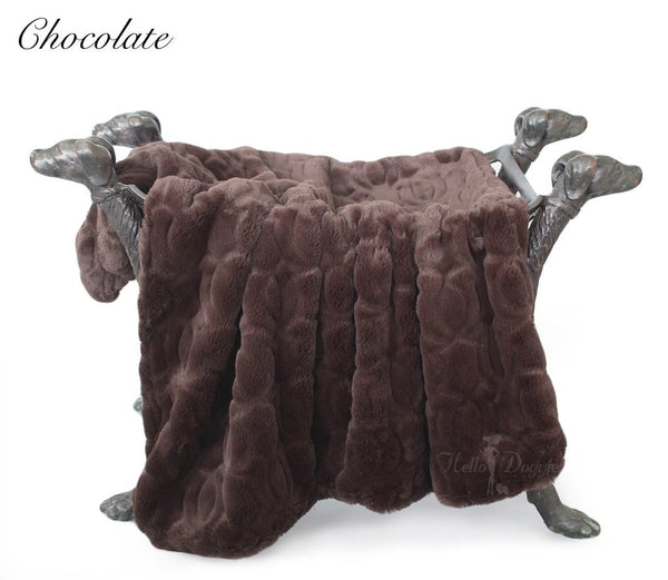 CHOCOLATE MOSCOW DOG BLANKET, Blankets - Bones Bizzness