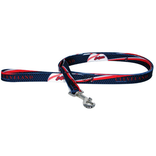 CLEVELAND INDIANS DOG LEASH, MLB - Bones Bizzness