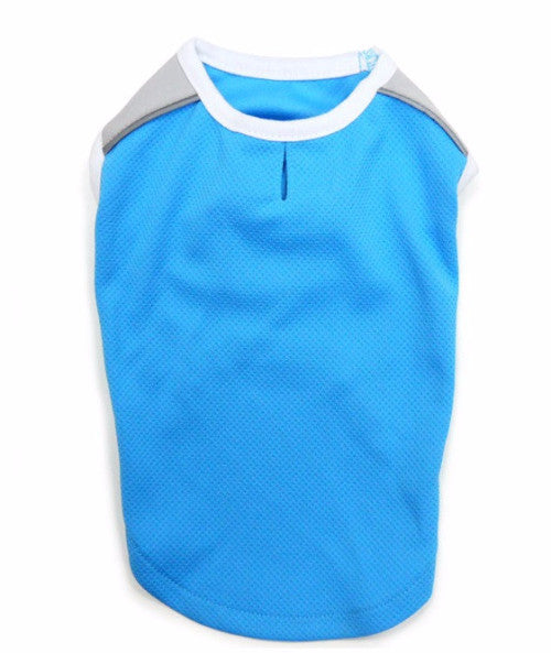ICOOL DOG TANK - BLUE, Shirts Tanks & Tees - Bones Bizzness