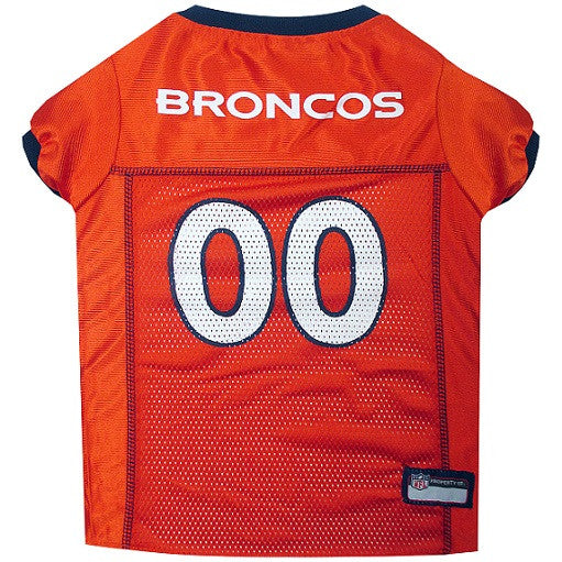 DENVER BRONCOS DOG JERSEY- ORANGE, NFL Jerseys - Bones Bizzness