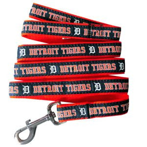 DETROIT TIGERS DOG LEASH – RIBBON, MLB - Bones Bizzness