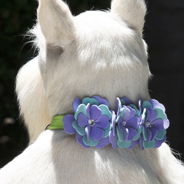 "EMMA DOG COLLAR BY SUSAN LANCI 1/2"", Collars - Bones Bizzness"