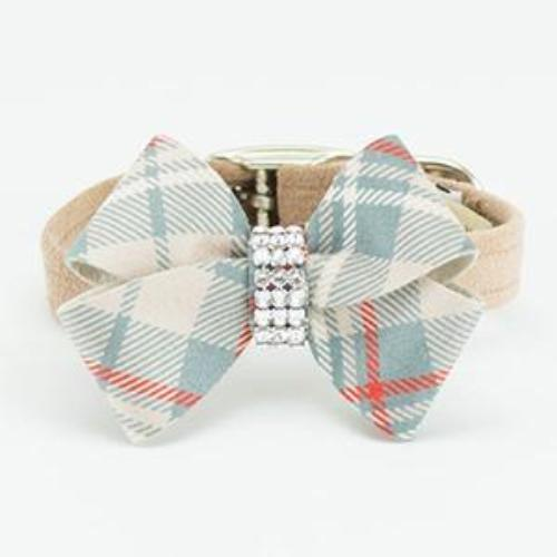 SCOTTY NOUVEAU DOE PLAID DOG COLLAR, Collars - Bones Bizzness